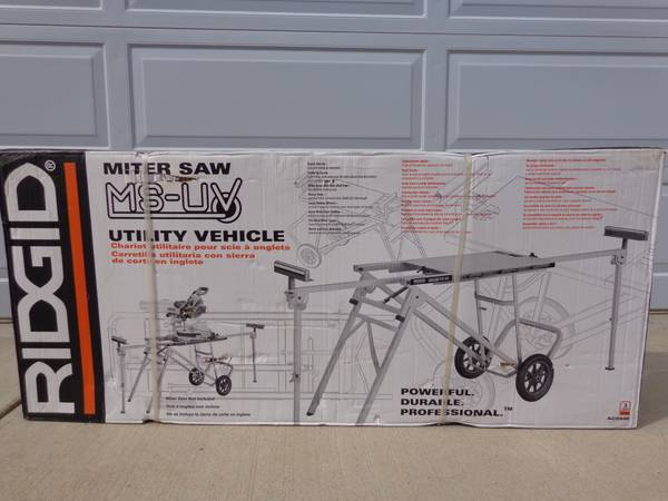 Rigid Brand Miter Saw Utility Vehicle - $150 (Doney Park-Flagstaff)
