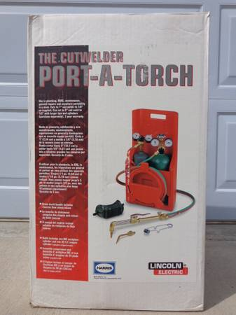 Lincoln Port-A-Torch kit - $325 (Doney Park-Flagstaff)
