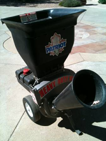 Patriot Chipper Shredder - $775 (Village of Oakcreek)