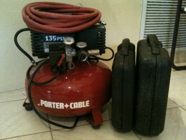 Porter-Cable Compressor and 2-Tool Combo Kit - $160 (Village of Oak CreekSedona)