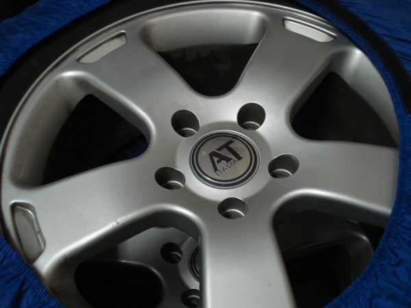 4 Pirelli Scorpions Snow Tires with 4 AT Italia wheels . . . and covers - $405 (Flagstaff)