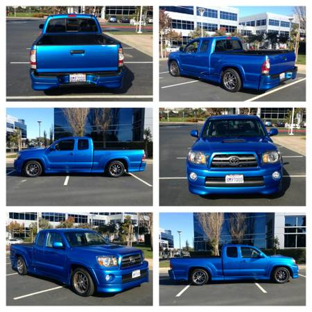 2009 Supercharged Tacoma X-Runner Only 12k miles -- Clean title - $24000 (South San Francisco)