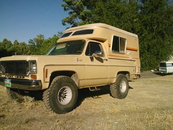 super rare 77 chevy k5 blazer chalet cer edition - $6000 (cottonwood)