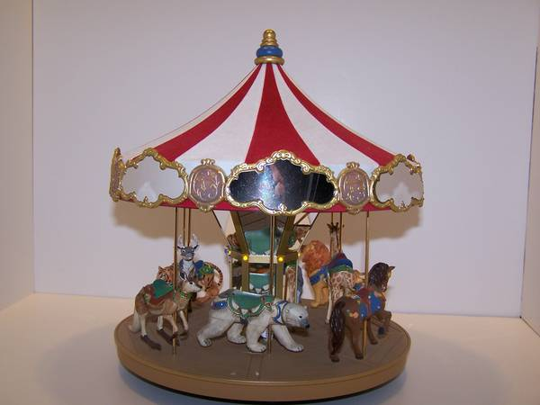 Hallmark Carousel Ride Display complete set - $200 (Flagstaff)