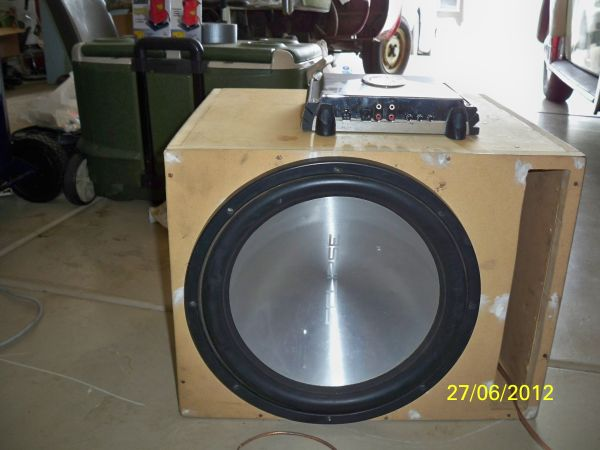 15 inch Eclipse Subwoofer w ported box - $150 (Ponderosa Trails)
