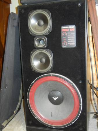 Massive Home Stereo Speakers Cerwin Vega - $175 (Cottonwood)