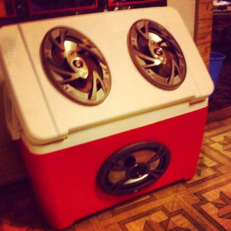 Custom Ice Chest Stereo System - $300 (Flagstaff NAU)