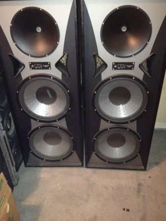 Two Pro Studio Mach II Speaker Towers - $200 (I-40)