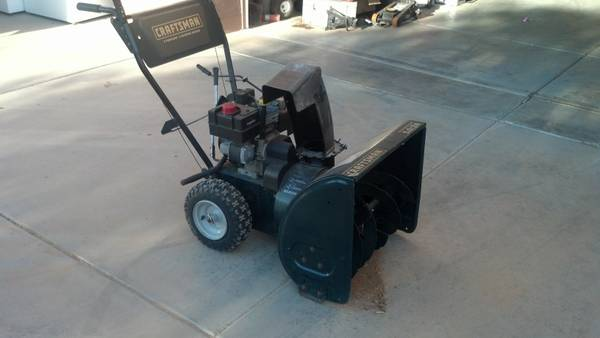 Craftsman Snowblower- electric start - $300 (flagstaff)