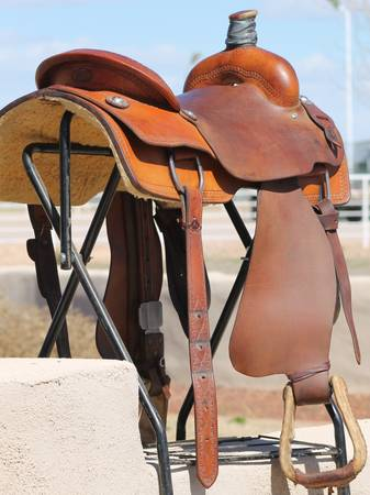 Dale Martin Saddle - Ranch Cutter Roping - $1050 (can meet)
