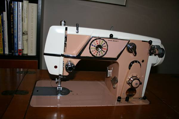 Necchi-Elna Sewing Machine Cabinet - $50 (West Sedona)