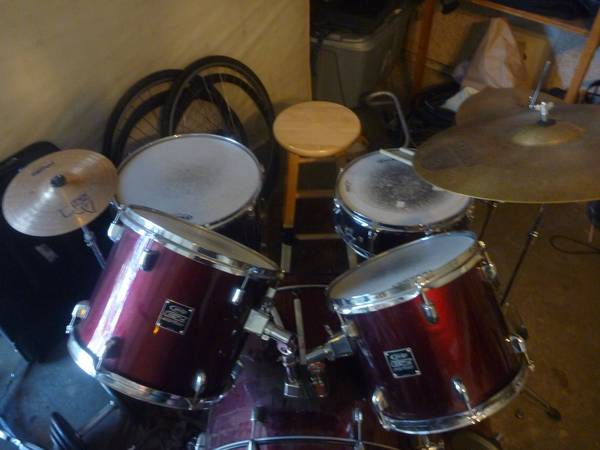 PDP EZ-series 5 piece Drum Set - $250 (Flagstaff)