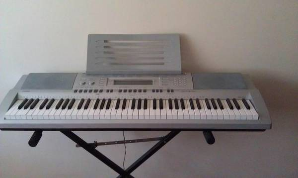 Casio WK-210 keyboard with stand and petal - $240 (NAU Cus)