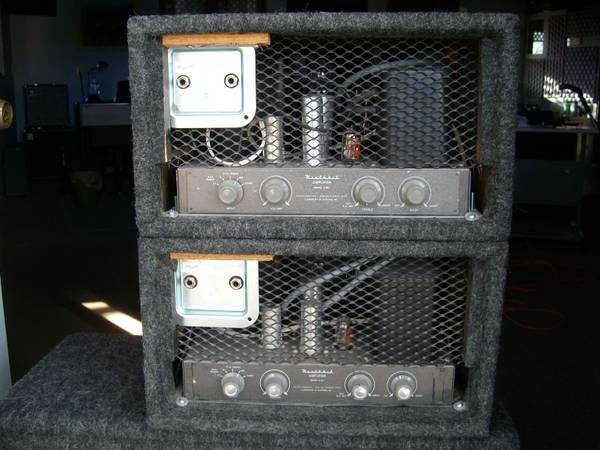 Heathkit tube s (pair) - $350 (Cornville AZ (near Sedona))