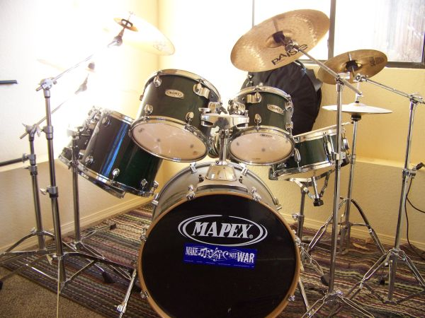 Mapex ProM series drums wcymbols - $900 (Sedona arizona)