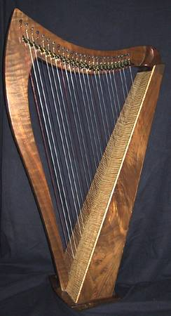 HARP DUSTY STRINGS 26 STRING CELTIC - $2250 (LAS VEGAS)