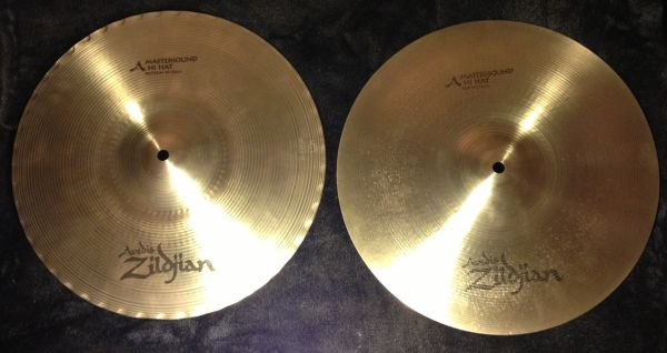 Zildjian A-series MASTERSOUND Hi Hats - $250 (Flagstaff)