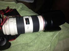 Canon Eos 1ds mark iii 70-200 zoom lens - $3200 (Az wide)