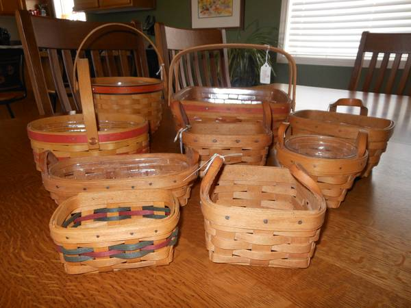 Retired Longaberger Baskets For Sale: longaberger baskets for sale