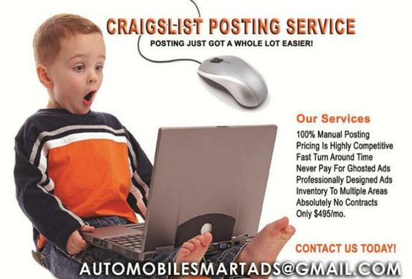 Auto Dealership Inventory Classified ads (Gold Country)
