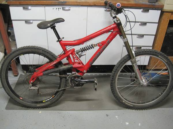 Santa Cruz Bullit Downhill Bike - $875 (Arnold)