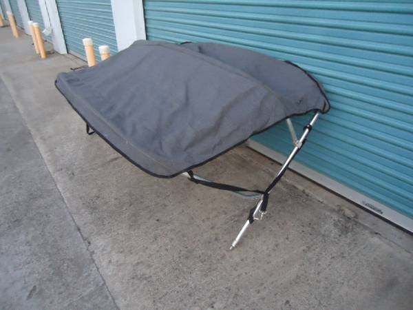 BIMINI TOP FOR BOAT SUNBRELLA SHADE SKI JET - $125 (COPPEROPOLIS)
