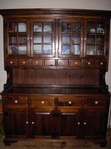 Ethan Allen china cabinet, table, dry sink, roll top desk ... (Auburn)