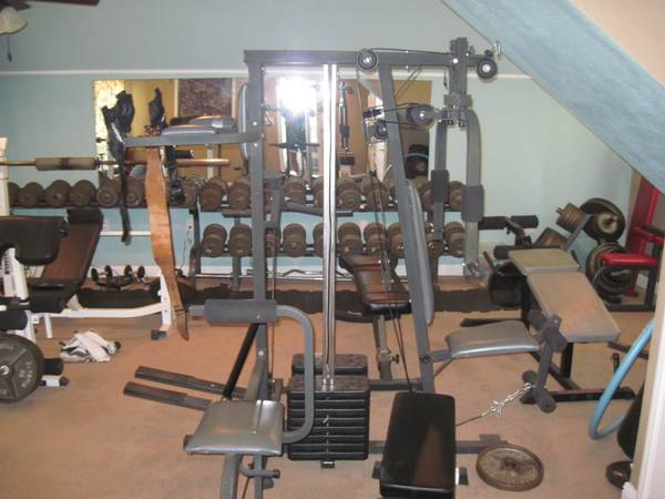 WEIGHT EQUIPMENT - $2000 (COPPEROPOLIS)