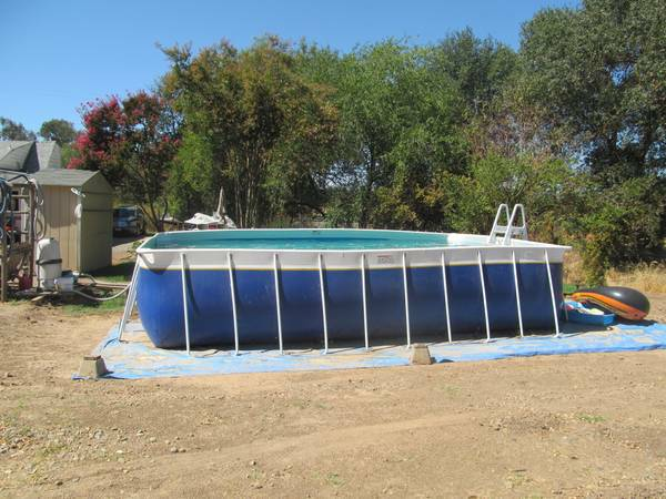 legacy above ground pool - $1 (rancho cordova)