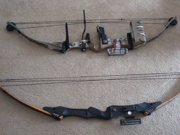 Two compound bows - $290 (San Andreas)