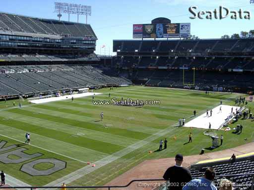 Oakland Raiders vs Dallas Cowboys, Friday, Aug 9,(Row 3) - $1 (Sec 225)