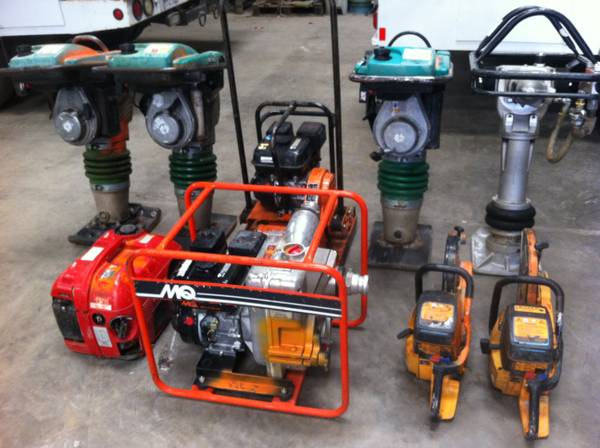 Wacker BS700 Compactor Thumper Compaction Plate Foot Ter - $795 (Rancho Cordova)