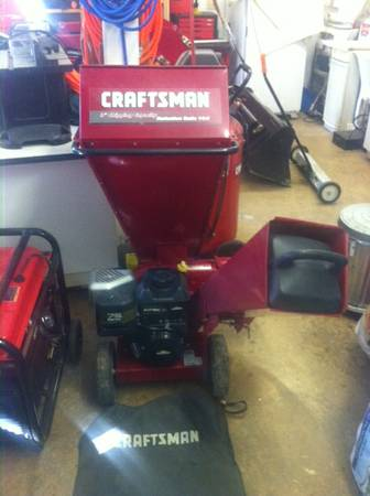 Craftsman wood Chipper - $300 (Jackson)