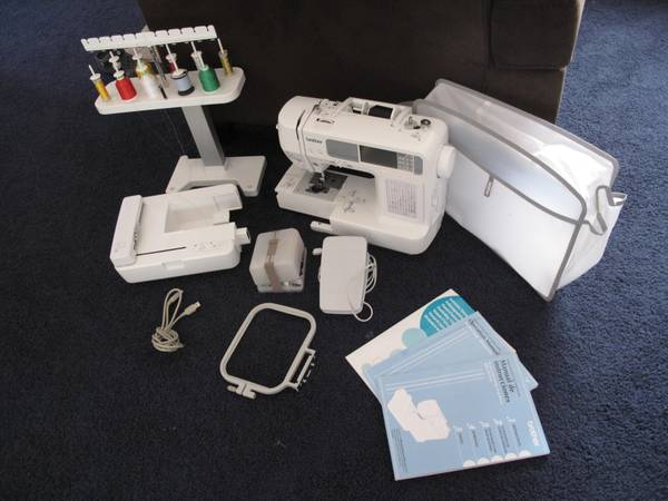 Brother HE 240 Embroidery Sewing Machine - $450 (San Andreas)