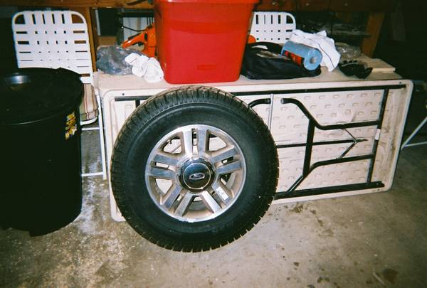 4ea. Alloy Wheels Studded Tires - $675 (West Point,Ca.)
