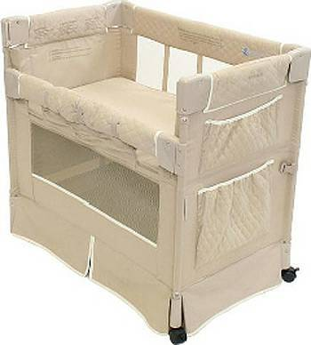Arms Reach Mini Classic Co-Sleeper Bassinet - $75 (Grass Valley)