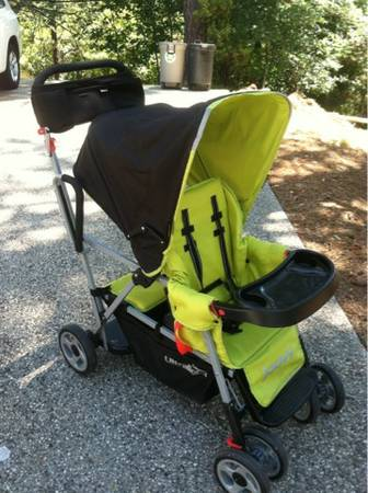 Joovy Ultralight Double Tandem Stroller - $145 (Nevada City)