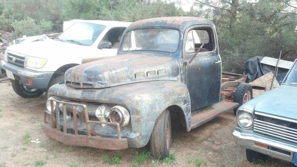 1951 FORD PICKUP NO RUST - $1600 (Grass Valley)