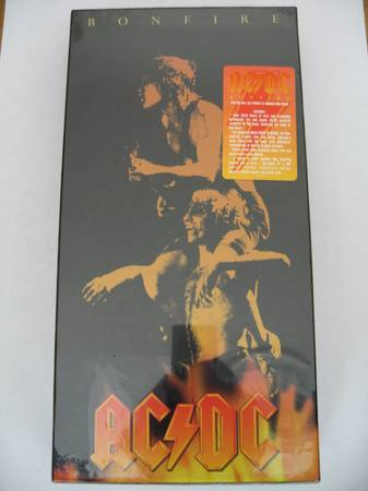 ACDC Bonfire Box Set Factory Sealed in perfect condition - OOP - $5 (mission district)