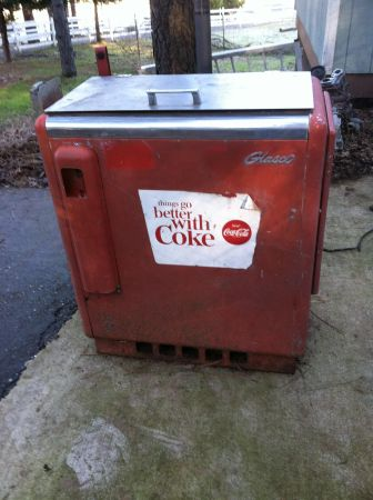 1950s Glasco Coke Machine - $150 (Auburn)