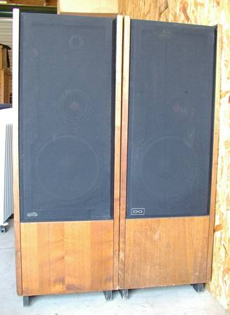 Vintage Infinity Speaker Towers - xclnt condition - $249 (Grass Valley)