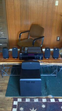 Klipsch 5.1 Speaker Set with Sub, Insignia Receiver Barely Used - $900 (Grass Valley)