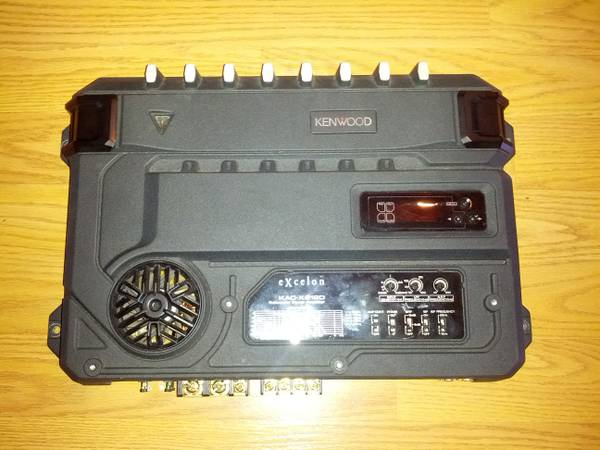 Kenwood KAC-X812D 1000w RMS Amplifier - $75 (Auburn)