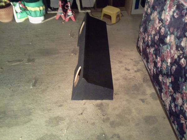 new 88-98 chevy gmc extended cab daul 10 sub box