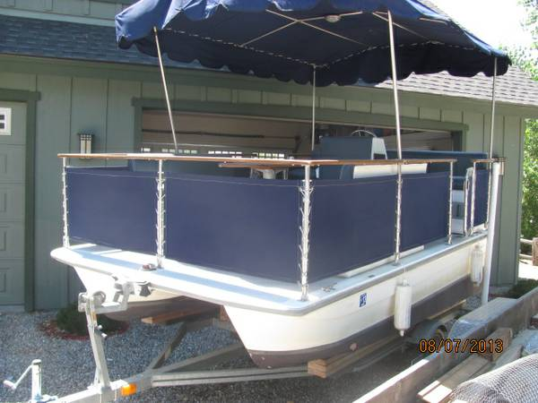 Electracraft Electric Pontoon Party Boat - $5900 (Bear Valley SpringsTehachapi)