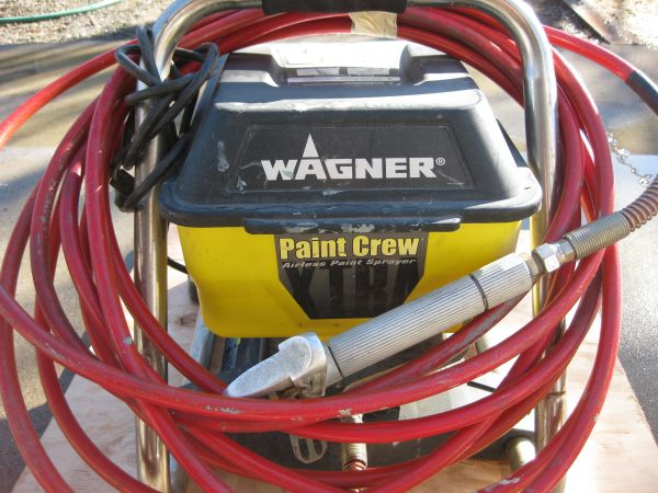 Wagner Paint Crew Xtra Paint Sprayer - $115 (Hanford)