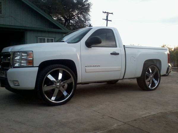 2007 SILVERADO SINGLE CAB SHORT BED LT ON 26S - $15500 (FILLMORE BY 6 FLAGS)