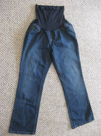 Two Hearts Secret Belly Maternity Jeans (XL) - $15 (Hanford)