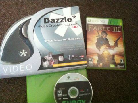 Dazzle Capture Card 2 Games - $75