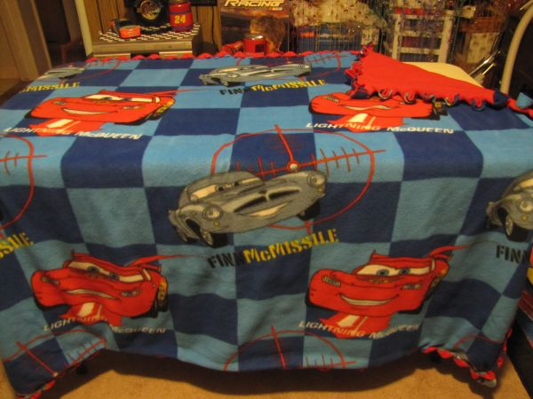 Lightning McQueen Fleece Blanket - $40 (HANFORD)